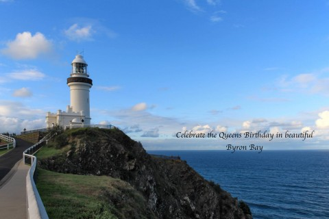 Celebrate in the Queens Birthday in Byron Bay